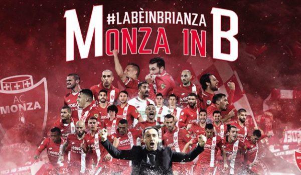 CALCIO: festa grande in Brianza, il Monza finalmente in Serie B